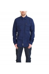 Lee 2 Pocket Shirt Medieval Blue