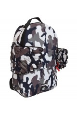 Sprayground Black Pyramid Limited Edition Hunter Grey Camo