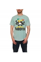 Trainerspotter Crow Bombing Burnout T Shirt