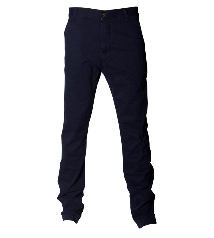 Trainerspotter Del Mar Navy Blue Chinos For Men Urban Mens Clothing