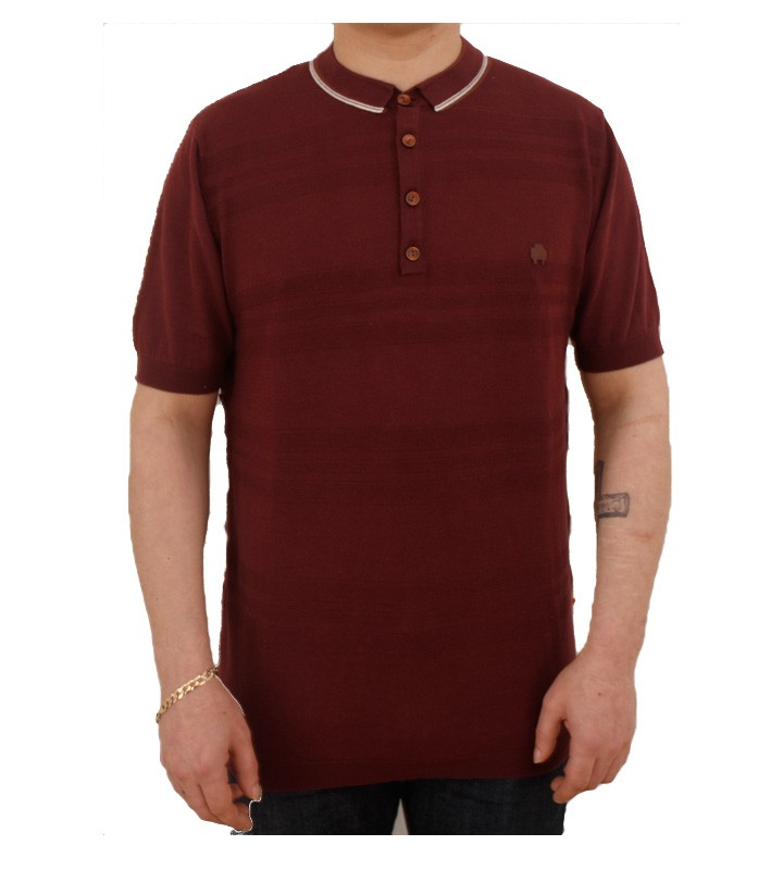 Marshall Artist Knitted Polo Tee