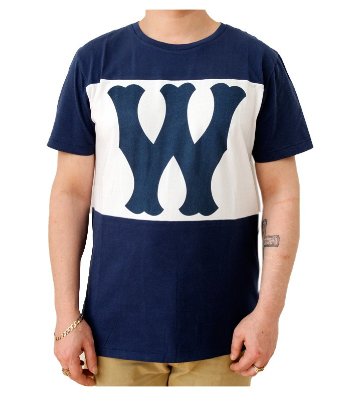 WeSC Franchise Dub Royal Blue T-Shirt
