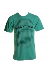 Kid Dangerous Behind The Shades Mens Green T-Shirt