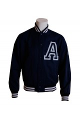 Addict Blue University Jacket