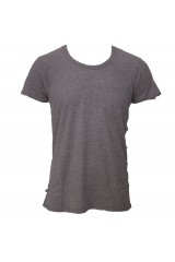 Dr Denim Grey Joey Plain T-Shirt