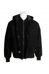 Addict Black College Jacket
