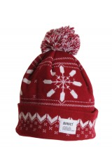 Addict Red Knitted Hat