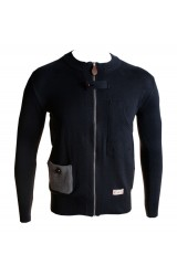 Marshall Artist Navy Mens Zip Cardigan
