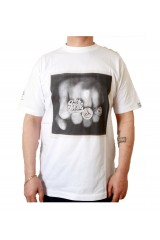 Addict x Goldie Ring Print White T-Shirt