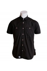 Addict Phantom Black Poplin Shirt