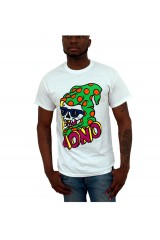 AONO Surf Skull White T-Shirt