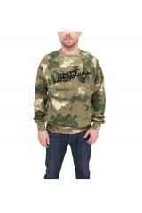 Crooks & Castles Men's Knit Crew Sweatshirt Thieves