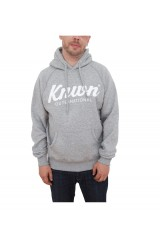 know-script-hooded-top