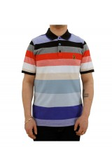 Luke 1977 Ouch Striped Poloshirt