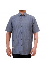 Marshall Artist Light Blue Resort Shirt