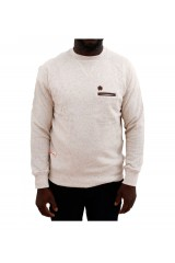 Marshall Artist Cream Fleck Crew Neck Jumper