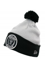 New Era Raiders Circle Bobble Hat