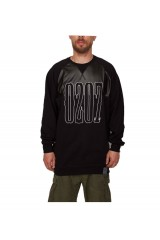 PXL Long Raglan Crew Jumper