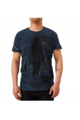 Seal Kay Teeriders Vintage Styled Blue T-Shirt