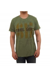 Seal Kay Teesunlife Vintage Styled Green T-Shirt