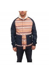 Supremebeing Tracker Jacket - Fall Stripe - Concrete