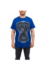 Supremebeing Mean Streets T Shirt - Olympian Blue