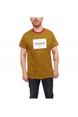 Supremebeing Slash T Shirt Gold