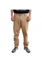 Trainerspotter Cali Taper Fit Beige Mens Chinos