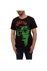 Trainerspotter Spike Vintage T Shirt Black & Green