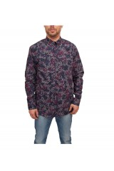 WeSC Leijon L/S Shirt - Midnight Blue