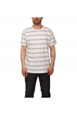 WeSC Bird Stripe S/S T shirt