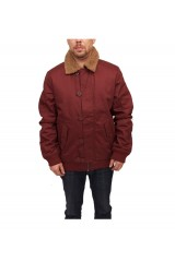 WeSC Jejor Padded Jacket - Andorra Red