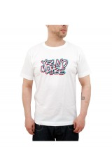 Yes No Maybe 3D Scrawl T shirt