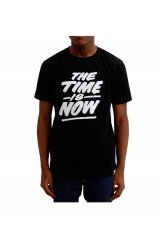 Yes No Maybe The Time Is Now Black T-Shirt