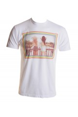 Kid Dangerous M83 Flasher Mens White T-Shirt