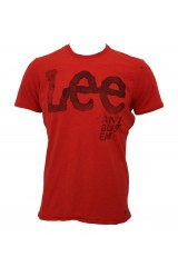 Lee Cant Bust 'em T Shirt Red