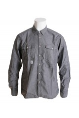 Addict Grey/Black Chambray Trail Shirt