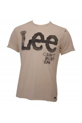 Lee Cant Bust 'em T Shirt Cream