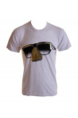 Kid Dangerous Humpty Glasses Mens White T-Shirt