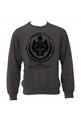 Addict Mind Control Grey Crew