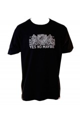 Yes No Maybe T-Shirt Crest