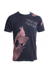Yes No maybe T-Shirt Navy