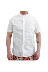 Addict Seagull BD White Shirt