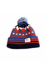 Addict Eclipse Native Blue Beanie Hat