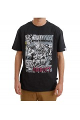 Addict x Mishka Lamour Black T-Shirt