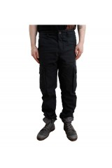 Addict Sentry Black Cargo Pants