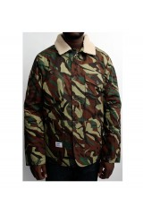 Addict Green Camo Jacket