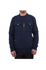 Boxfresh Havirly Mens Navy Sweat Cardigan