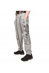 Crooks & Castle Black Order Sweatpants Speckle Grey
