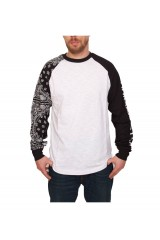Crooks & Castle Squad Life L/S Raglan Top